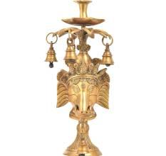 Bronze Oil Lamps
