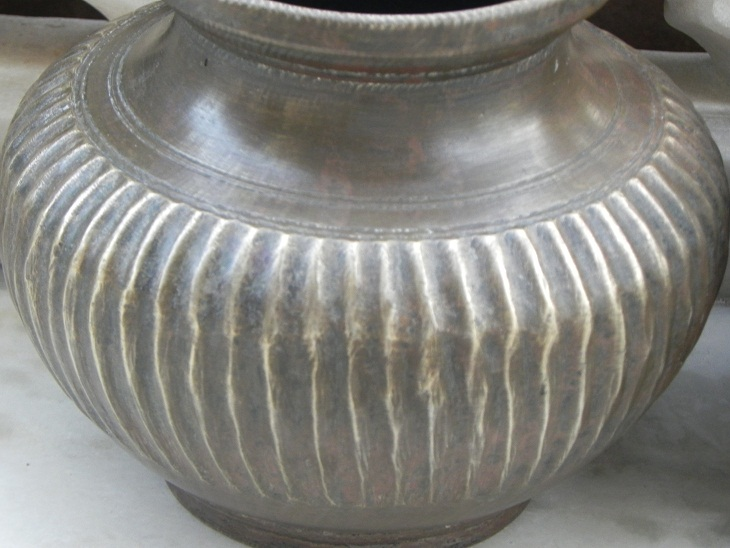 Old And Rare Brass Holy Water Pots