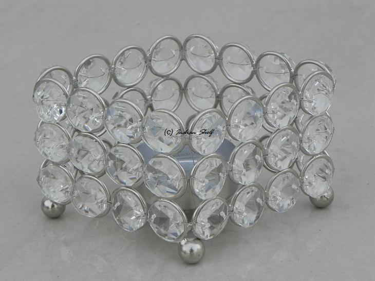 Glass Bead Votive 1