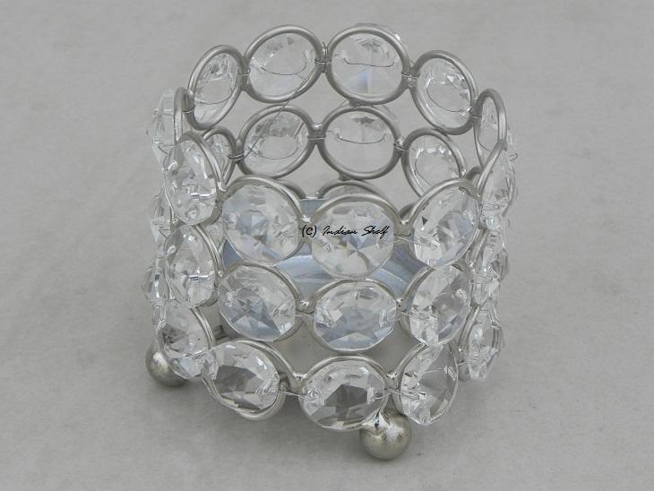 Glass Bead Votive 4