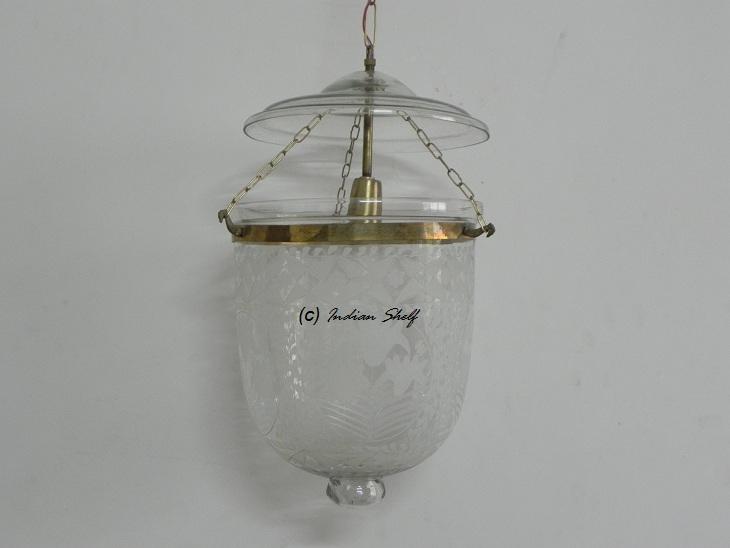 Clear Flower Medium Lamp
