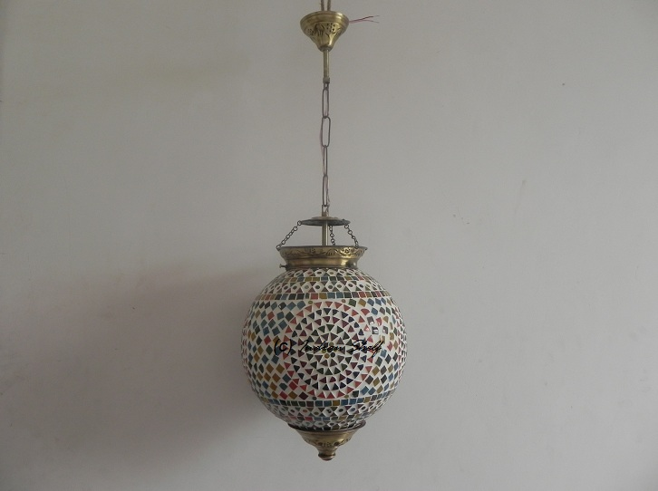 Mosaic Flower Lamp