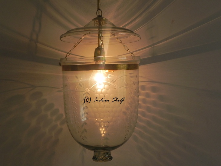 Clear Grapes Lamp