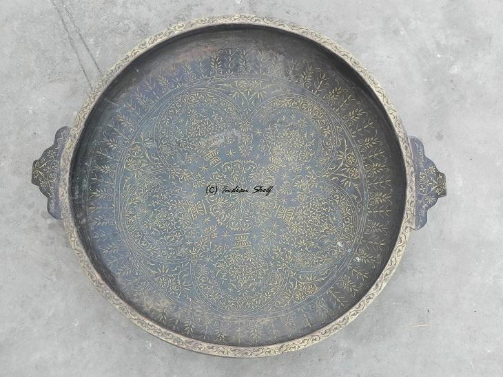 Bronze Urli-36 Inches