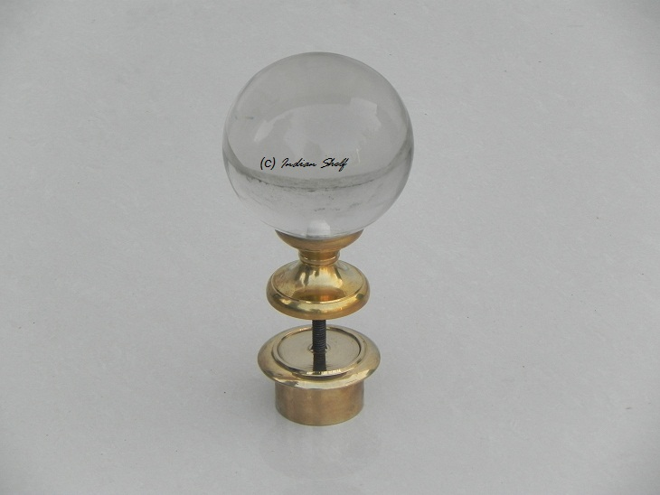 Round Newel Post Finial
