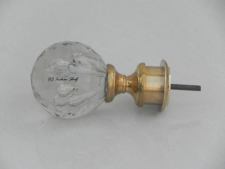 Diamond Bubble Newel Finial