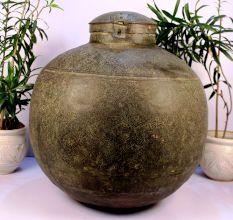Copper planter-35.5 x 35.5 inches