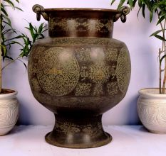 Bronze planter-31.5 x 23.25 inches