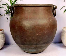 Copper Planter-23.5 X 23.5 Inches