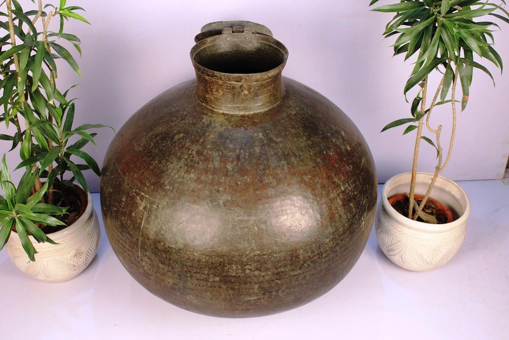 Copper Planter-32.5 X 32.5 Inches