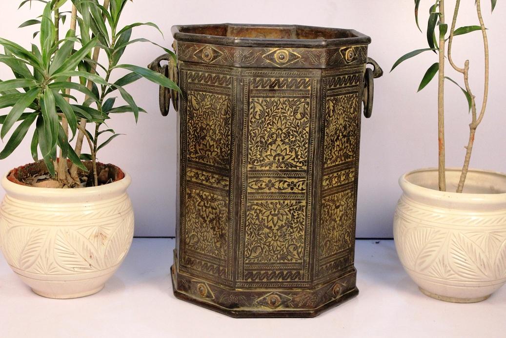 Bronze Planter-23 X 21 Inches