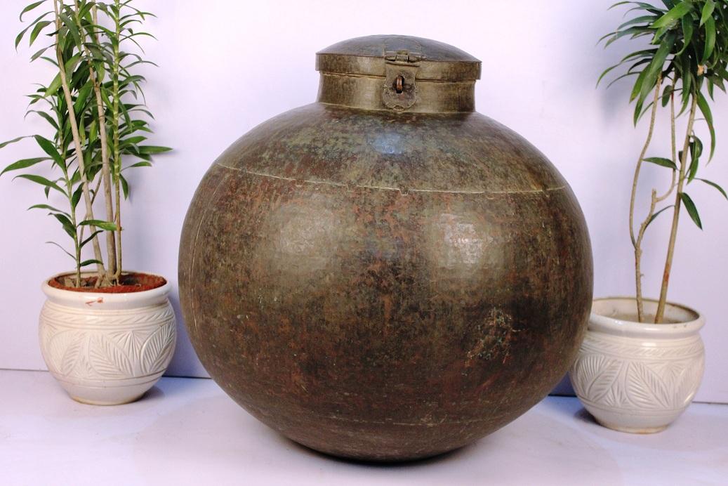Copper Planter-33 X 34.5 Inches
