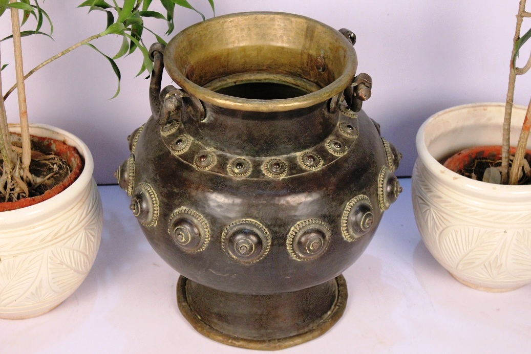 Bronze Planter-19 X 19 Inches