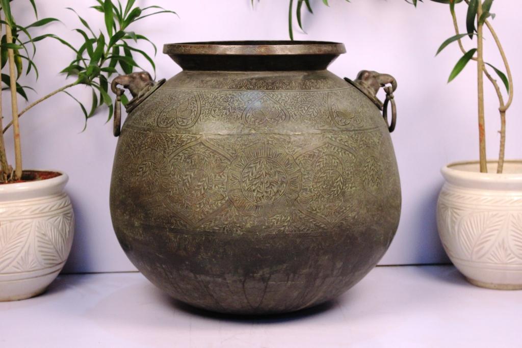 Bronze Planter-21.5 X 24.5 Inches
