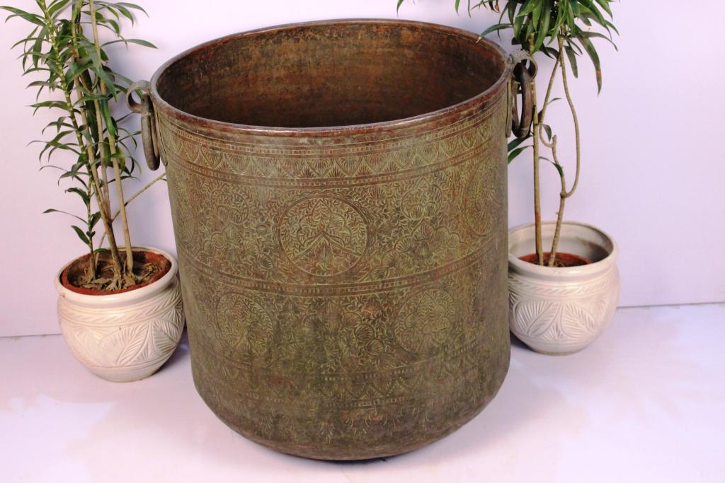 Copper Planter-30.25 X 31.5 Inches