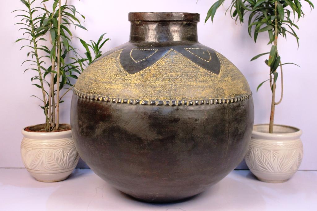Bronze Planter-32 X 31 Inches