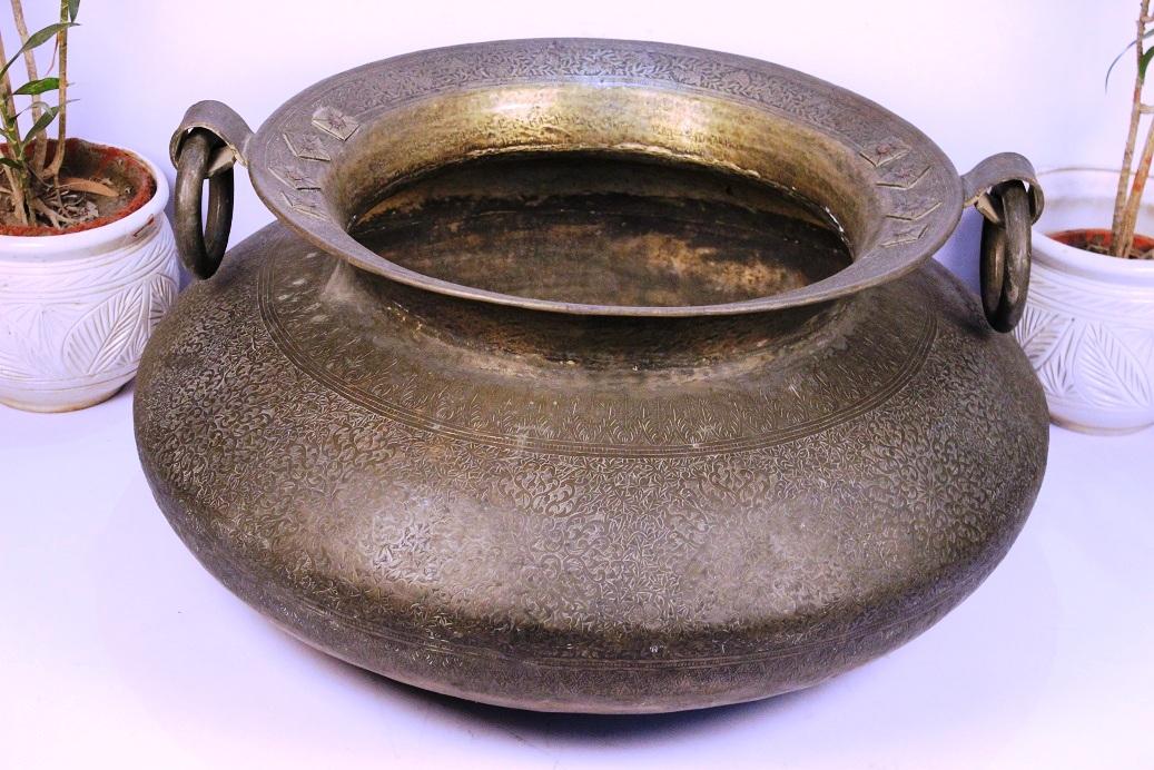 Bronze planter-18 x 40.25 inches