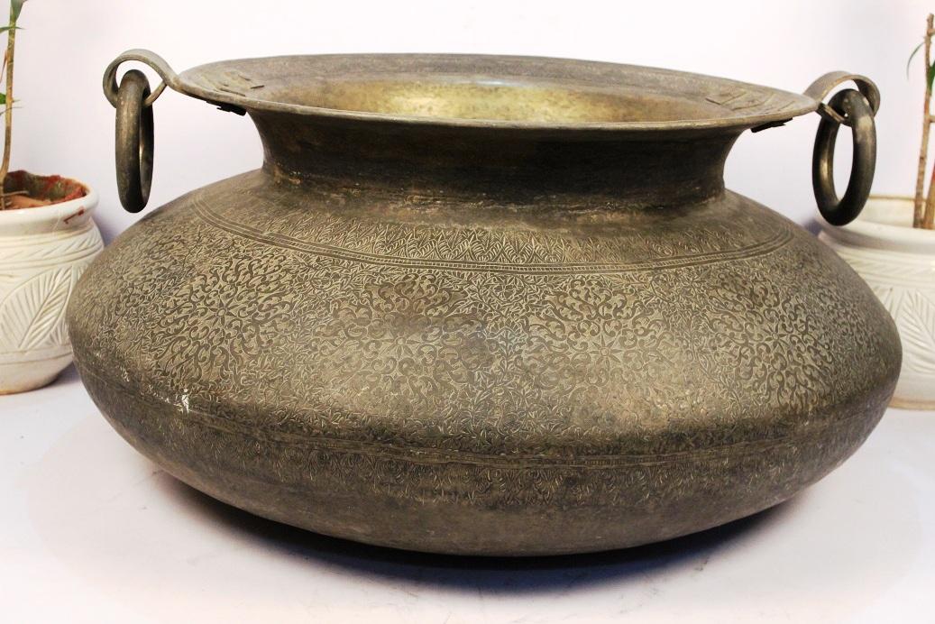 Bronze Planter-19 X 37 Inches