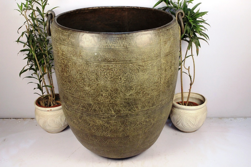 Bronze Planter-28 X 29 Inches