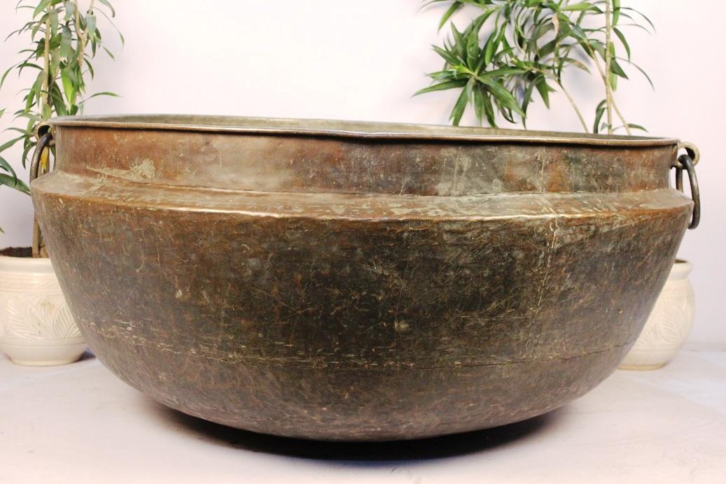 Copper Planter-22.5 X 51.5 Inches