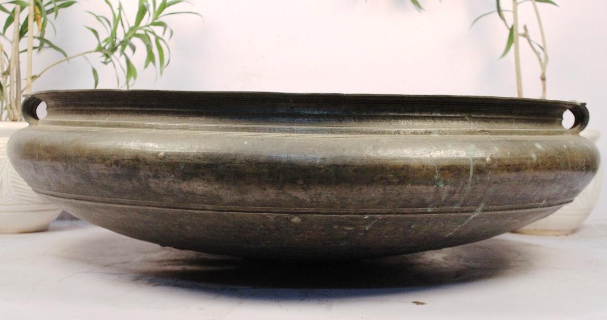 Bronze Urli-43.25 Inches