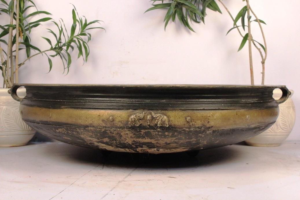 Bronze Urli-39 Inches