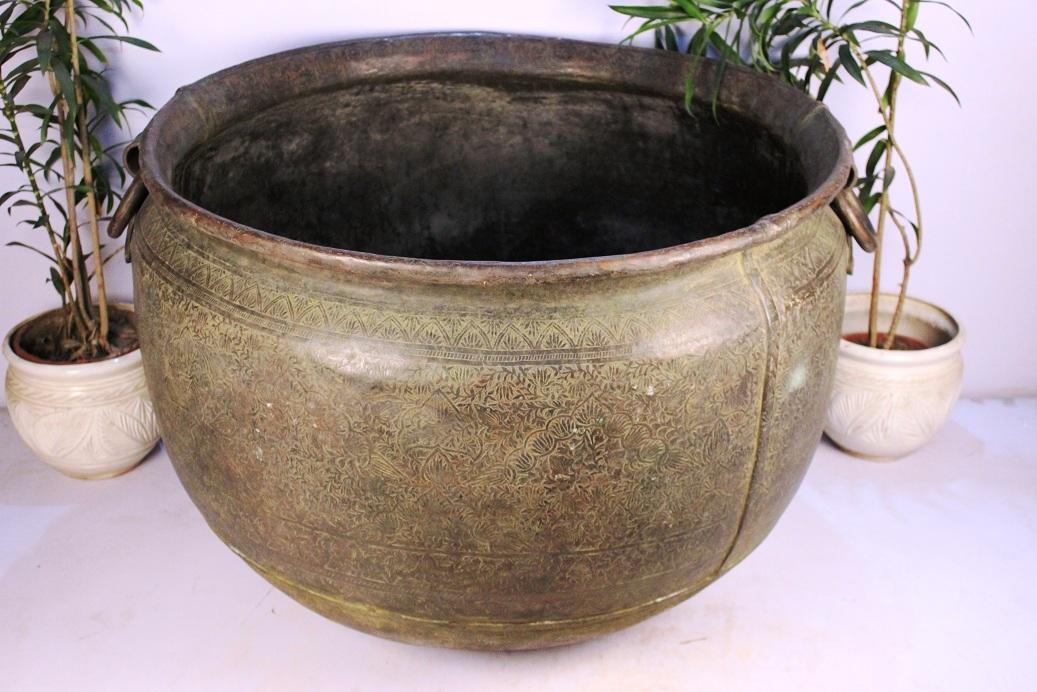 Copper Planter-29 X 45.5 Inches