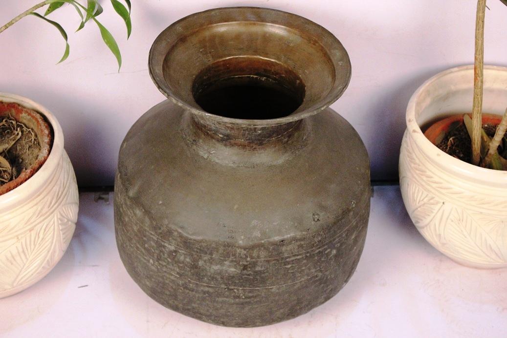 Bronze Planter-17 X 18 Inches