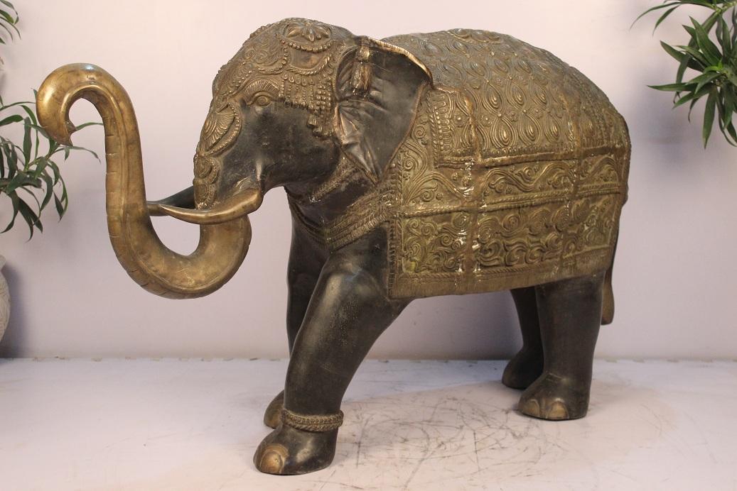 Bronze Elephant (ht-30 Inches)
