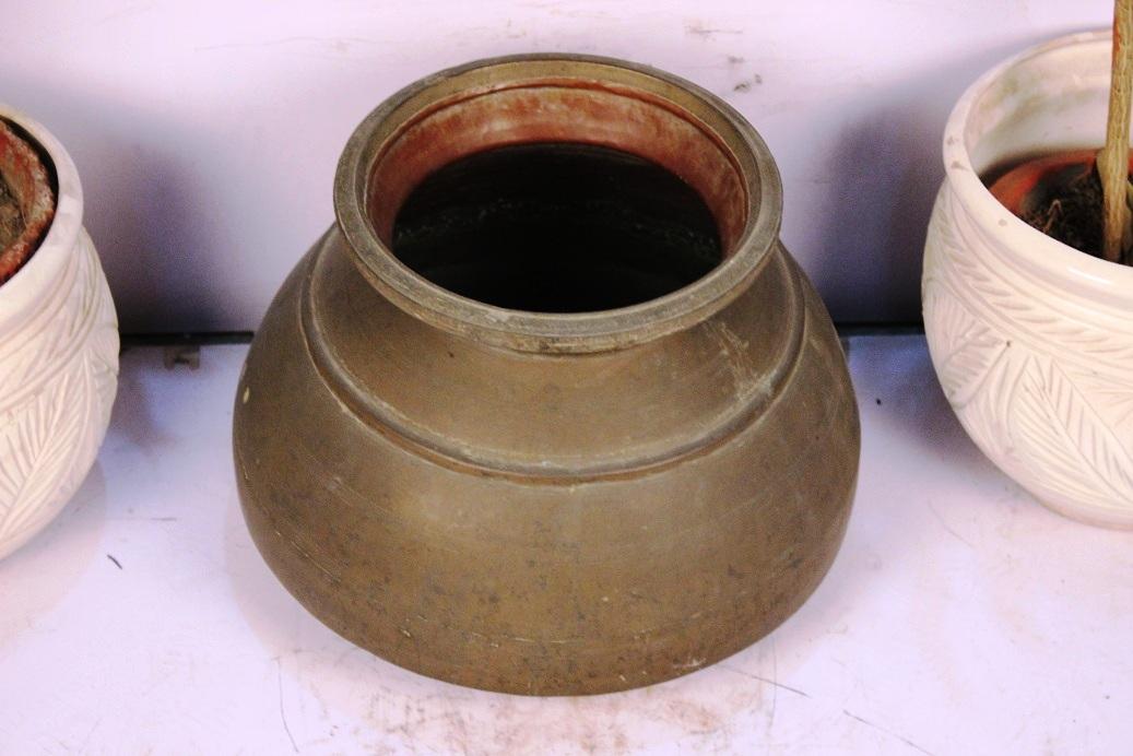 Bronze Planter-12.5 X 16.5 Inches