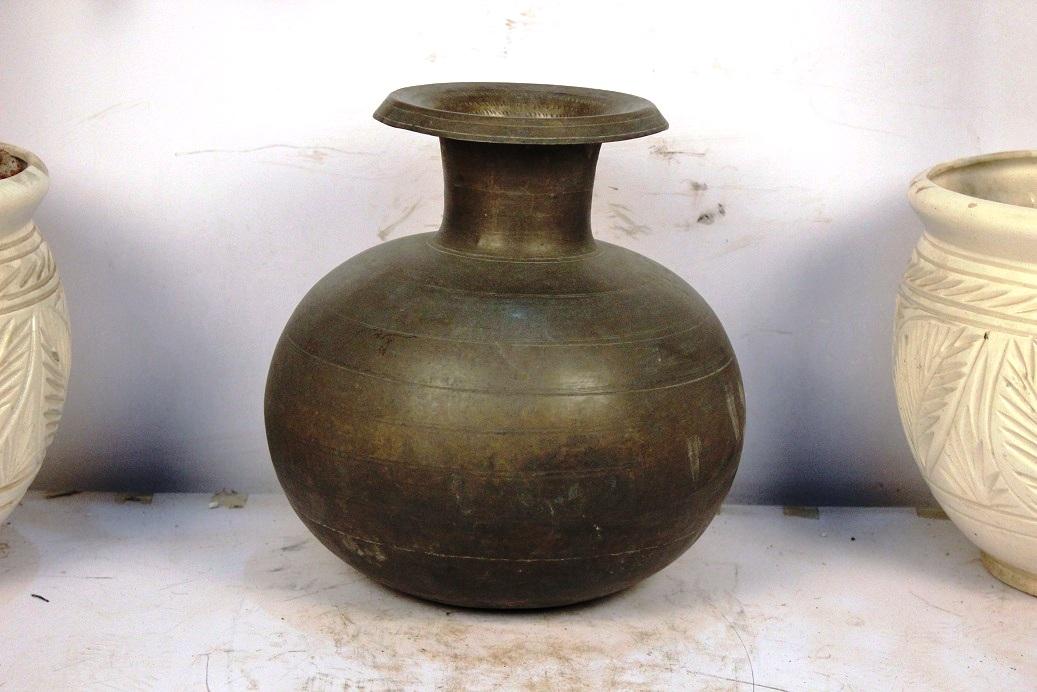 Bronze Planter-12.5 X 12.5 Inches