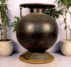 Bronze Planter-31.5 X 25 Inches