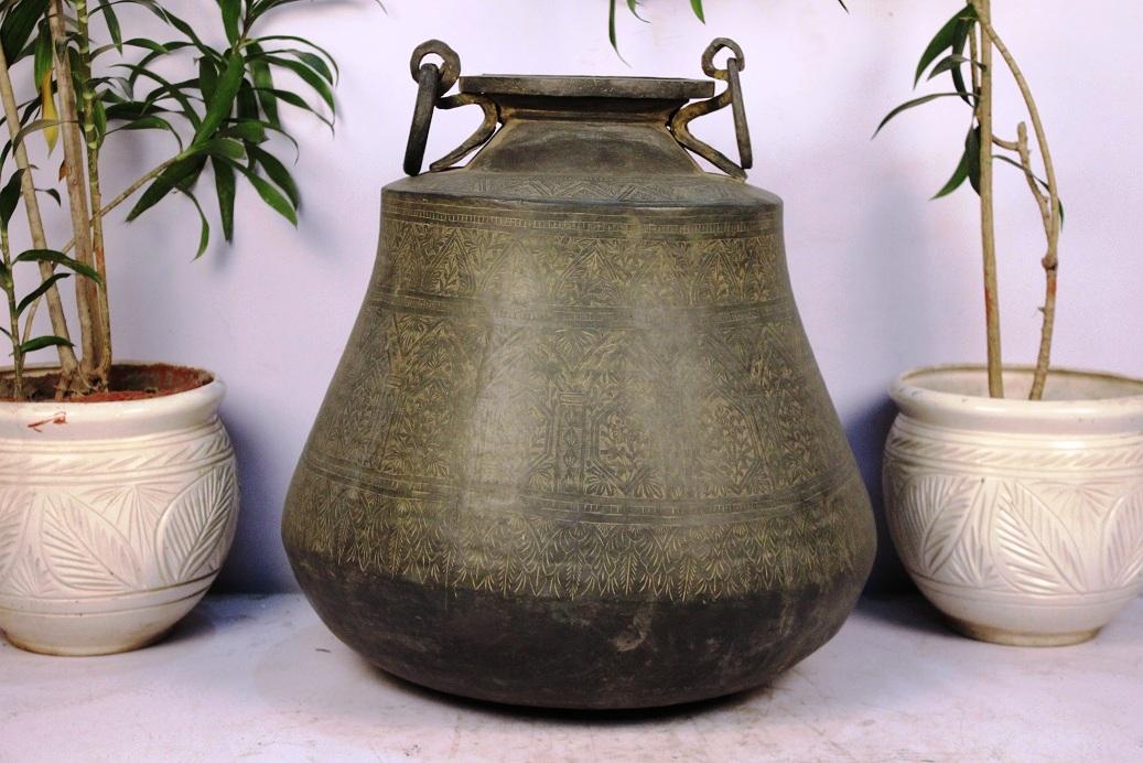 Bronze Planter-24 X 21.5 Inches