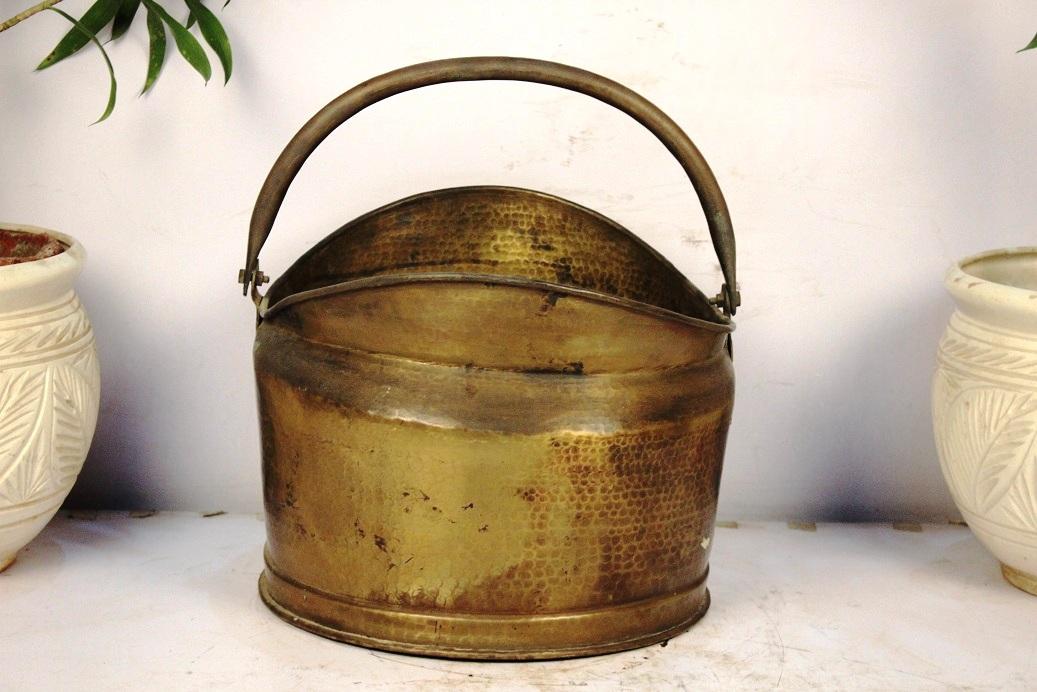 Bronze Bucket Medium- 12 X 14 Inches