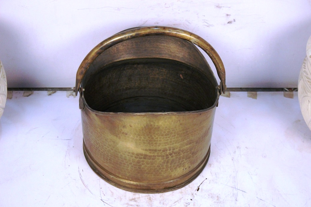 Bronze Bucket Small-9.5 X 12.5 Inches