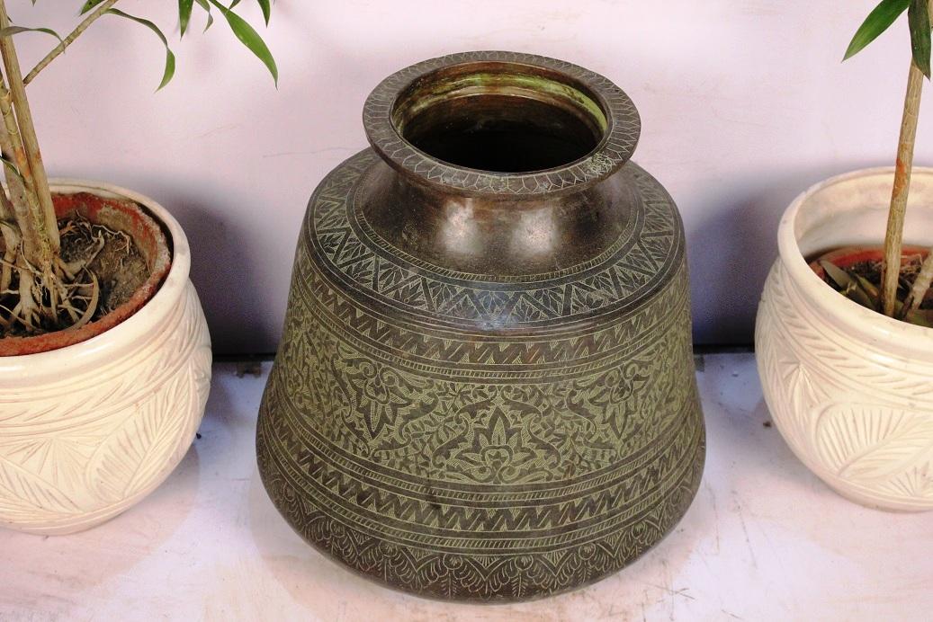 Bronze Planter-15.5 X 15.5 Inches