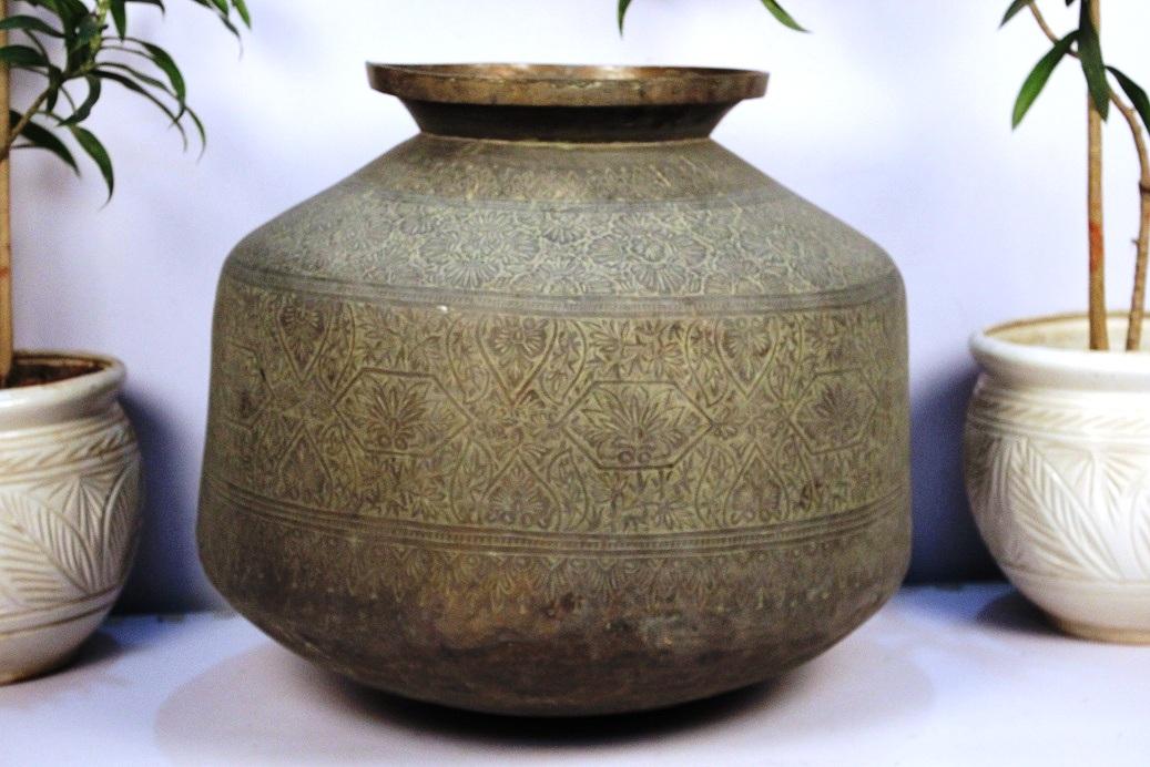 Bronze Planter-21.5 X 25.5 Inches