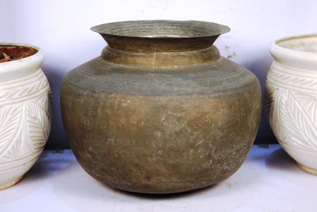 Bronze Planter-11.5 X 15.5 Inches