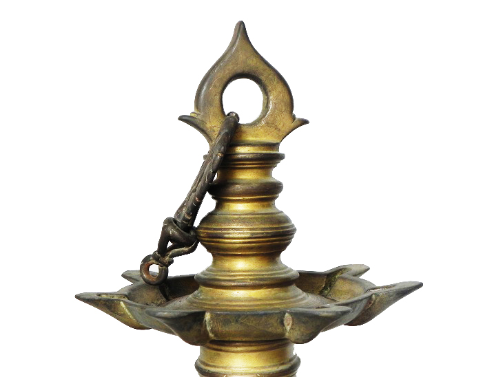 Vintage Oil Lamp-28 (Ht-15 Inches)