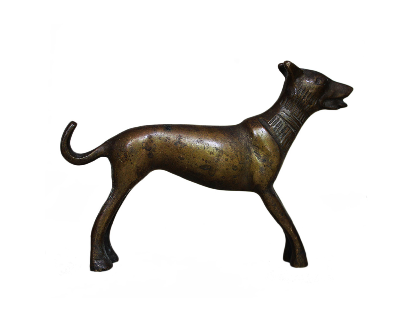 Brass Dog Ht-3.75 Inches