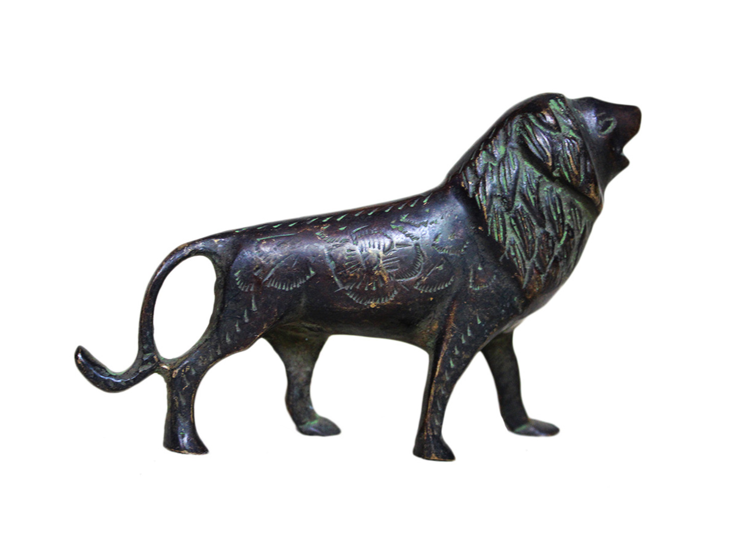 Brass Lion Ht-3.75 Inches