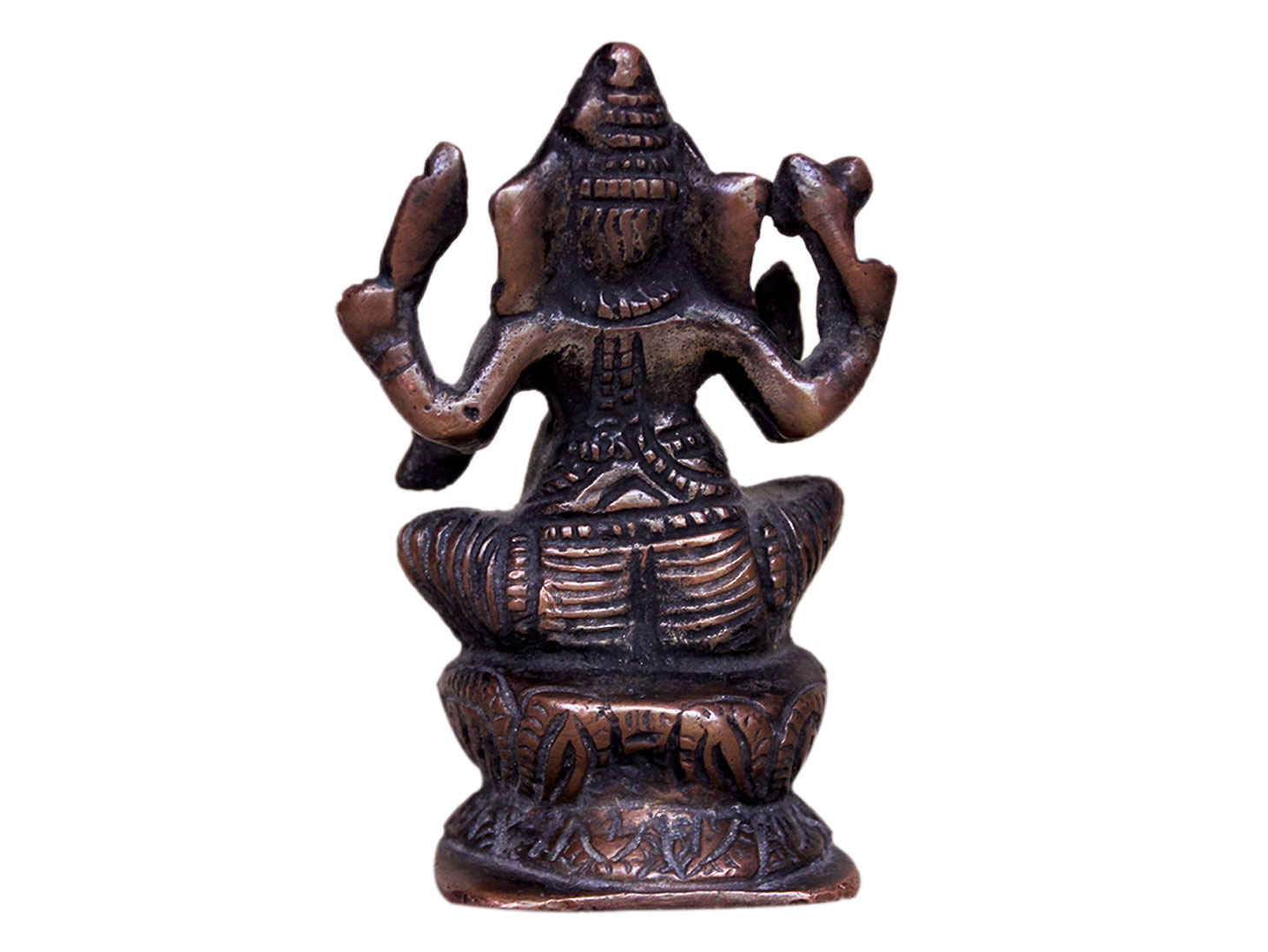 Brass Ganesha (Ht-3.3 Inches)