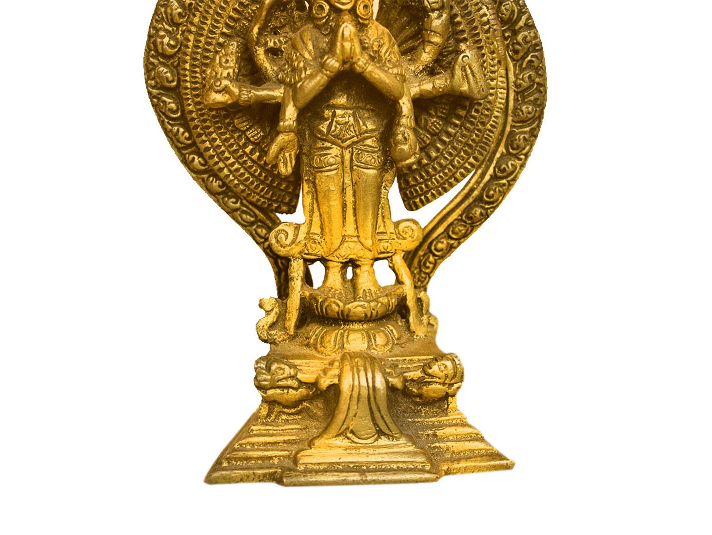 Brass Lokeshwar (Ht-5.7 Inches)