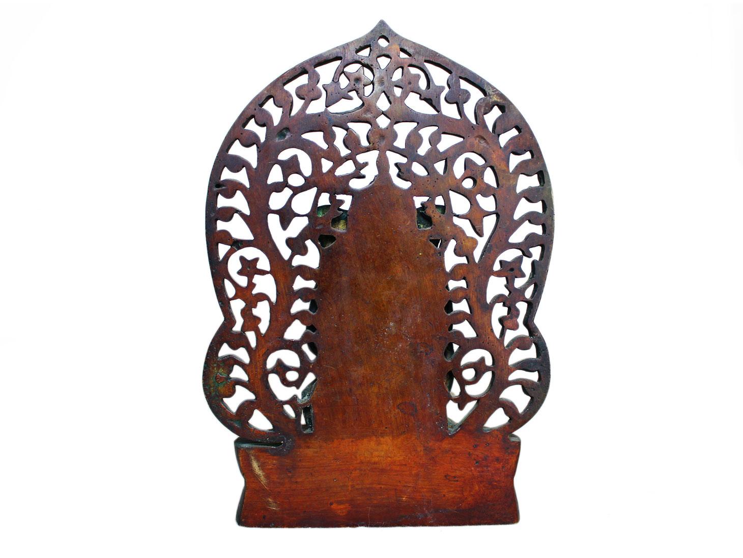 Brass Ganesha (Ht-8.5 Inches)