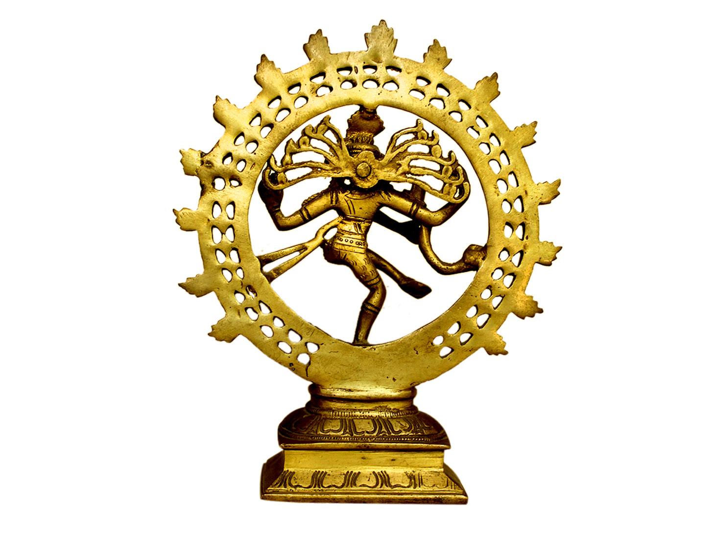 Brass Natraj (Ht-9.25 Inches)