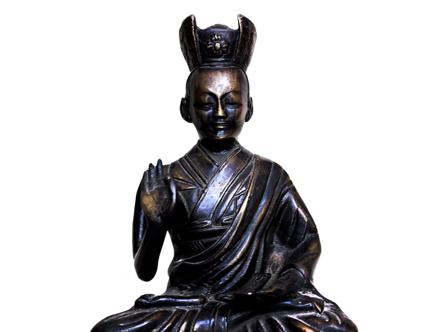 Brass Buddha (Ht-9.45 Inches)