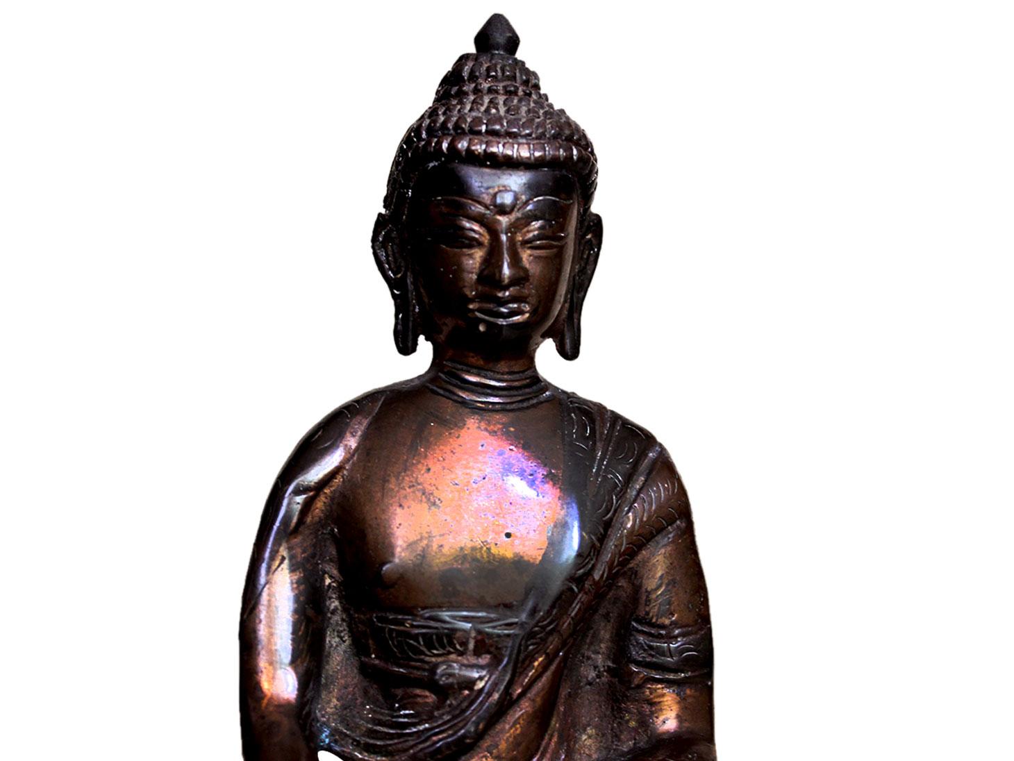 Brass Buddha (Ht-7 Inches)