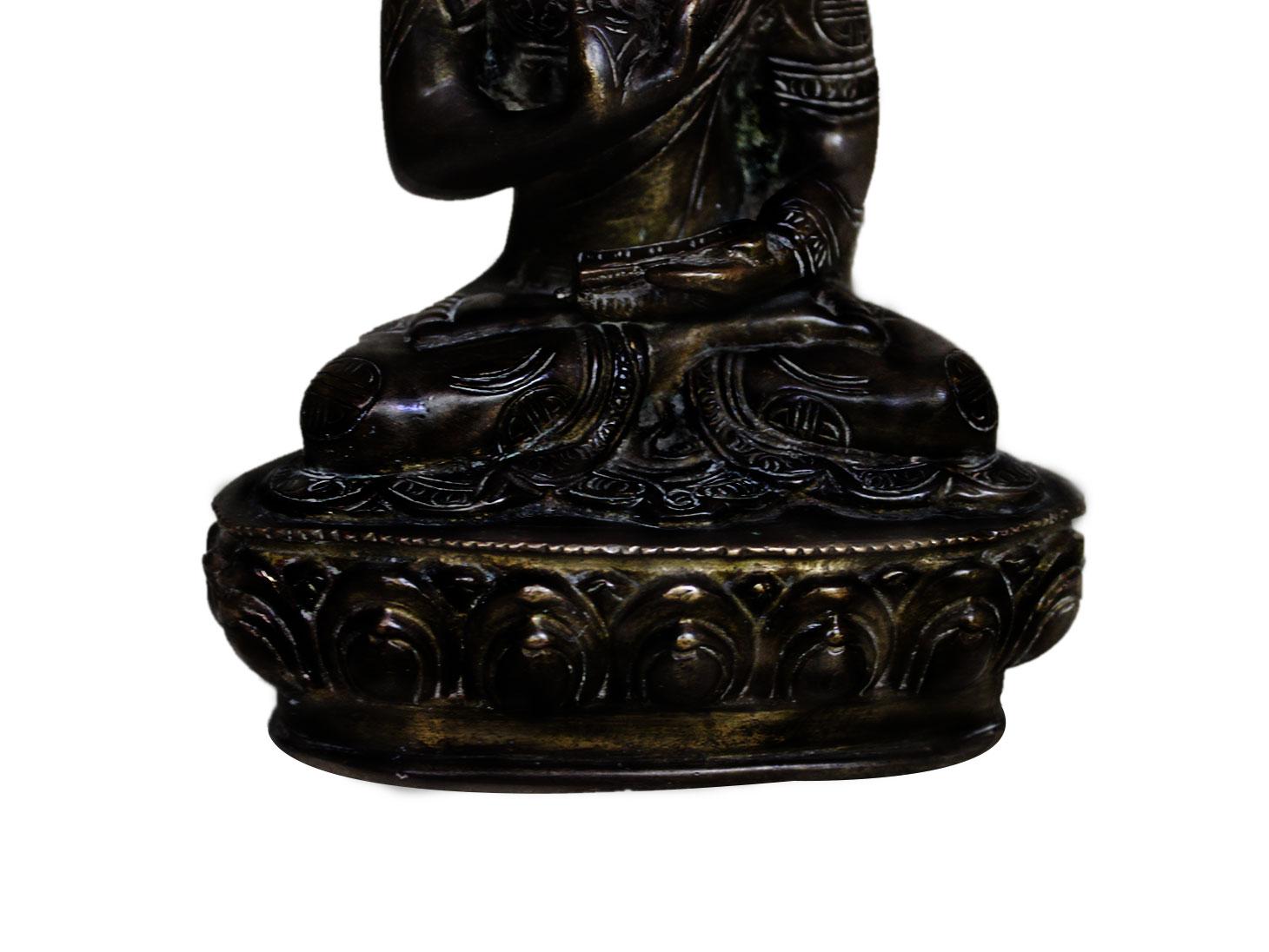 Brass Buddha (Ht-6.7 Inches)