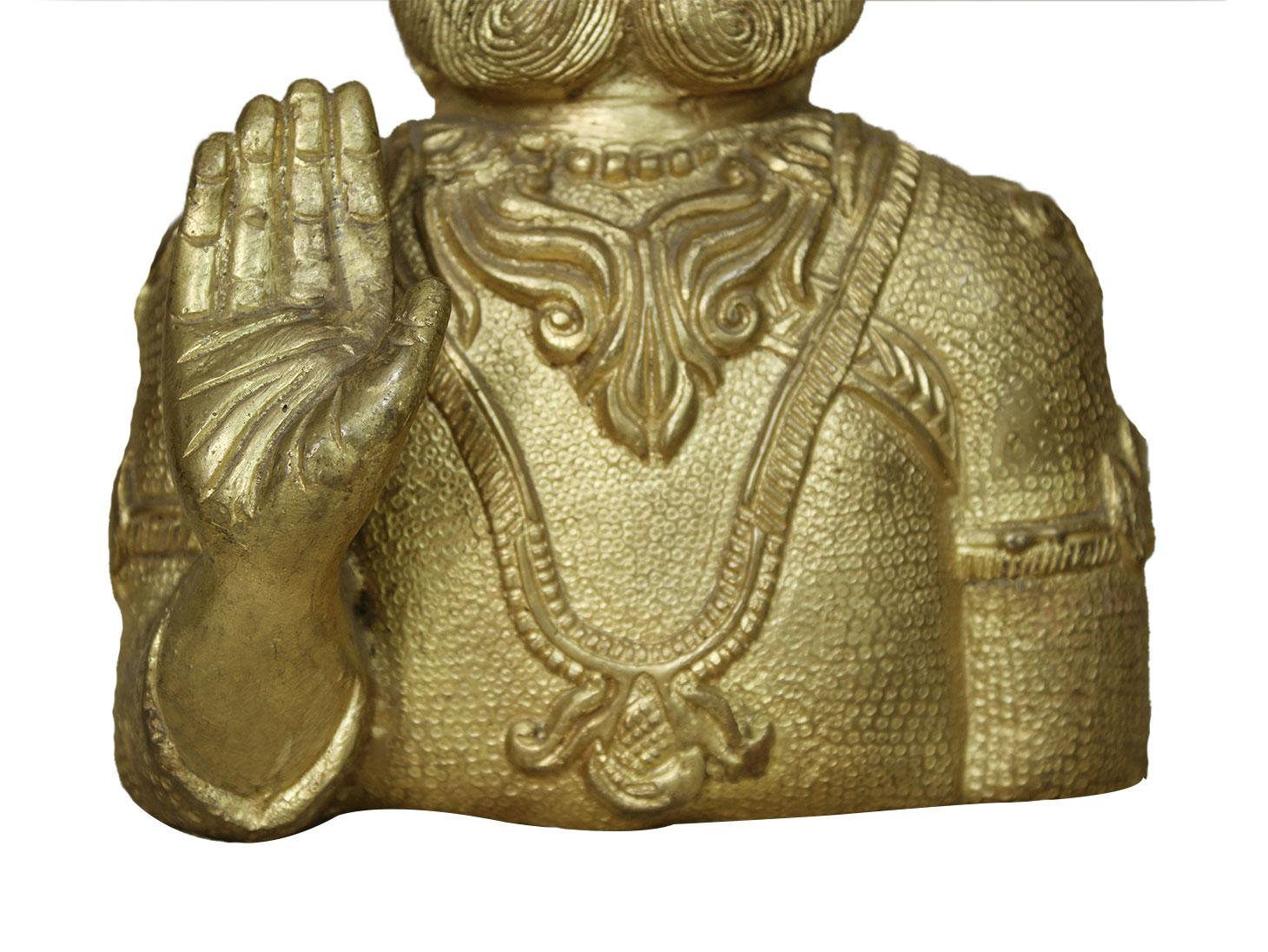 Bronze Maharaja Agrasen (Ht-9.8 Inches)
