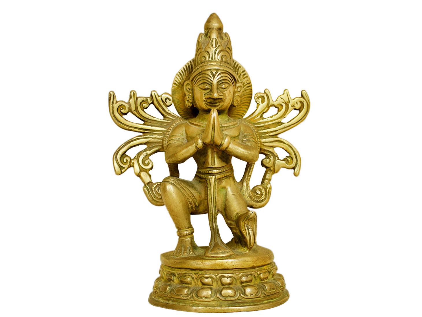 Brass Garuda (Ht-5.9 Inches)